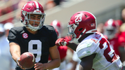Game balls for Alabama: A-Day edition