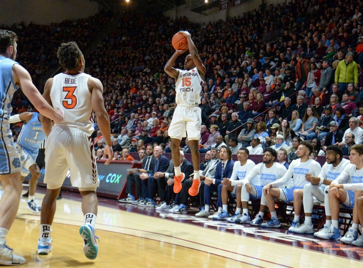 Hokies pull off double overtime win over North Carolina