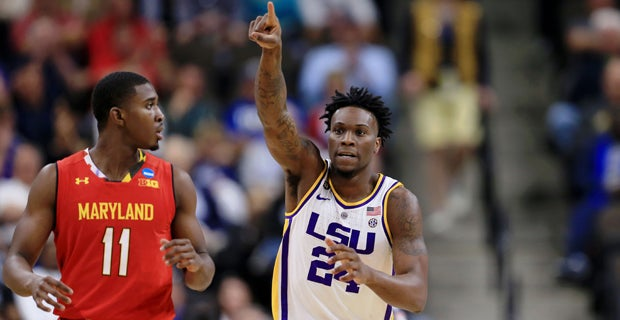 4b49d9a18ee1f8 LSU to face Michigan State in Sweet 16 of NCAA Tournament