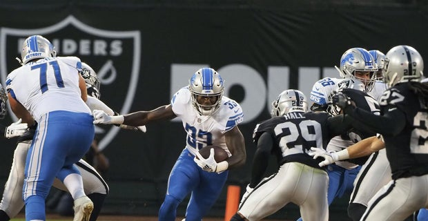 4b579334 Kerryon Johnson excels in NFL debut, plus Lions highlights