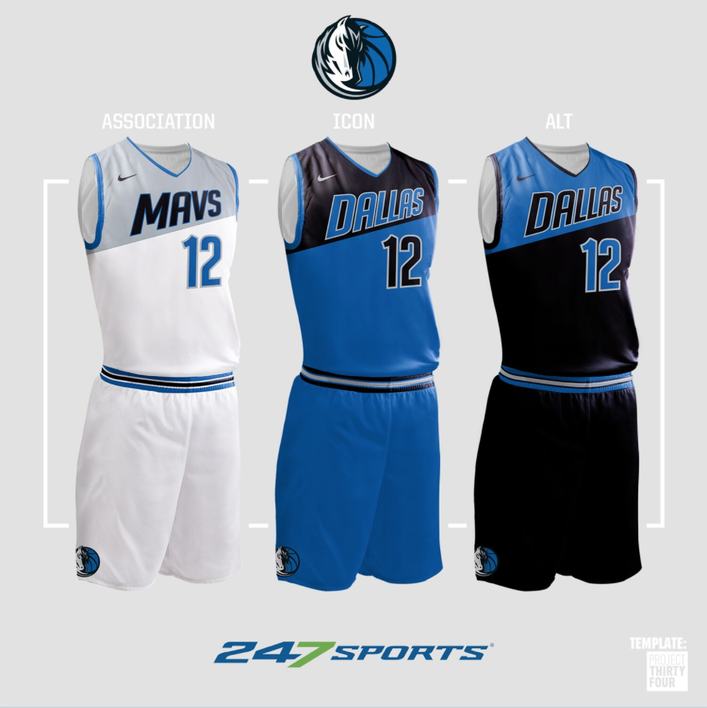 quality design c8904 11f4a Look: NBA uniform concepts for some of the league's best teams