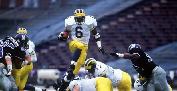 Michigan Football Top 5 Career Rushing Yardage Leaders