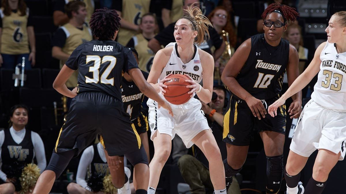 Wake Forest Women s Basketball tops Towson 60-53 d0186d6e94