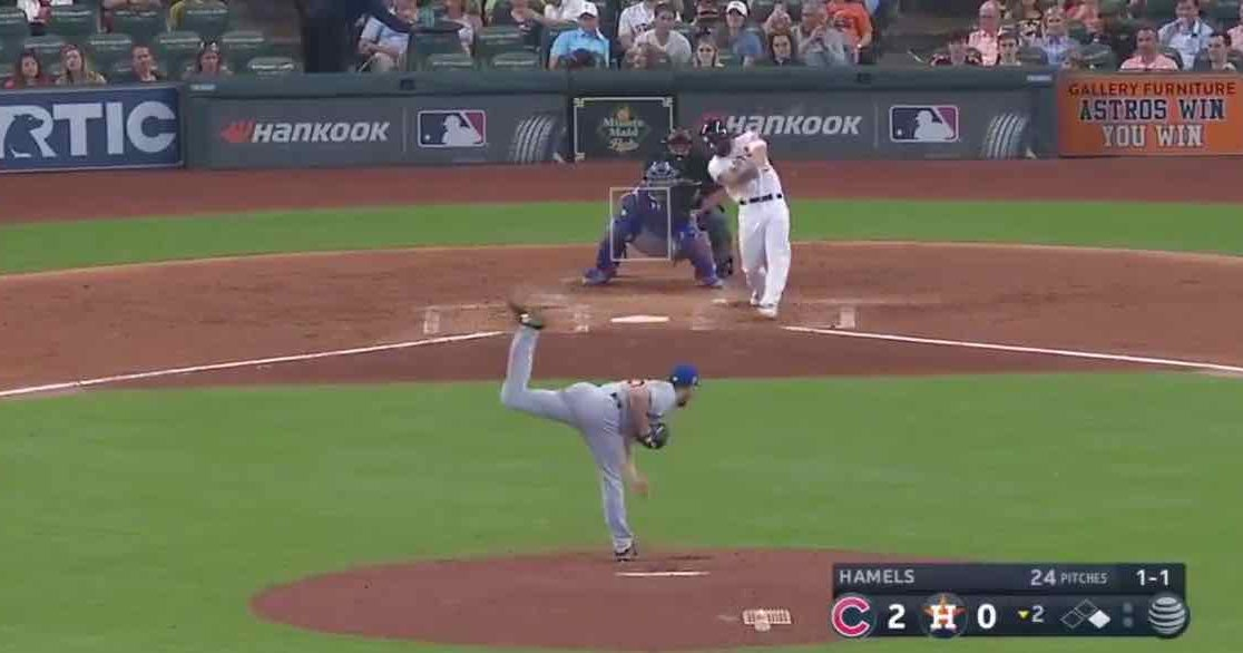 a9f40e05505d54 WATCH: Former Sooner Jack Mayfield doubles in first MLB at-bat