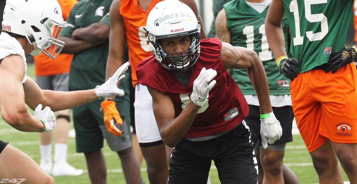 Spartans have plenty of competition for East Lansing WR Anthony