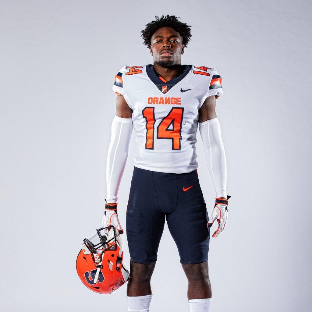 pick up 7ac23 fdeda Syracuse Football's New Uniforms Revealed