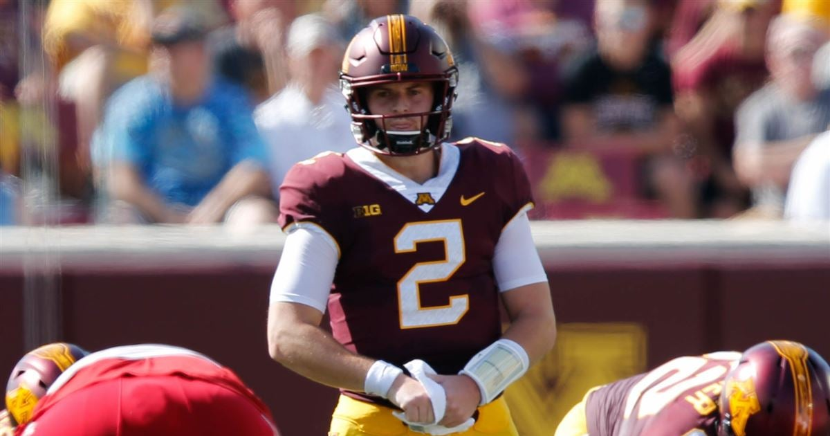 Projected 2019 Minnesota Gophers football depth chart