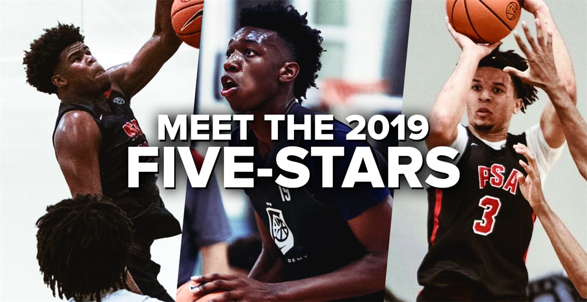 Meet the 2019 247Sports Composite five-stars