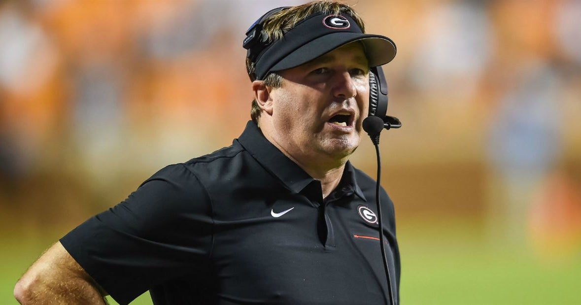 Georgia drops to No. 10 in the Week 8 Amway Coaches Poll