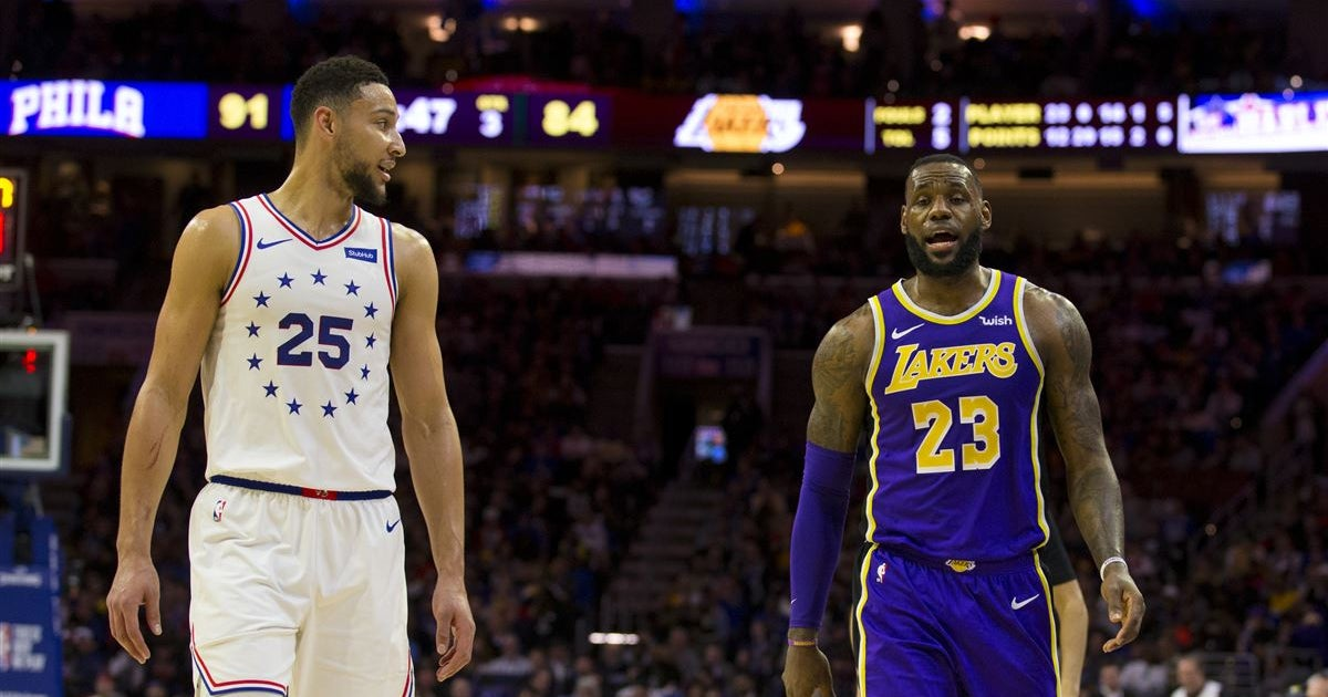 9ac576aa0620 Report  76ers could try to trade Ben Simmons for LeBron James