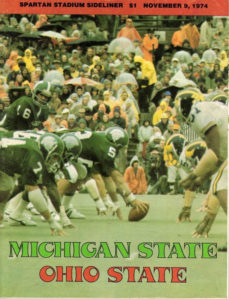 1974 Msu Osu Game As Told By Rcmb S Who Were There