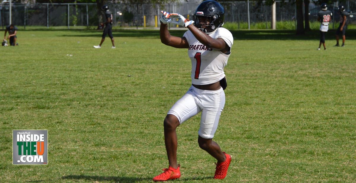 VIDEO: Miami Commit 2020 WR Marcus Fleming in Preseason Practice