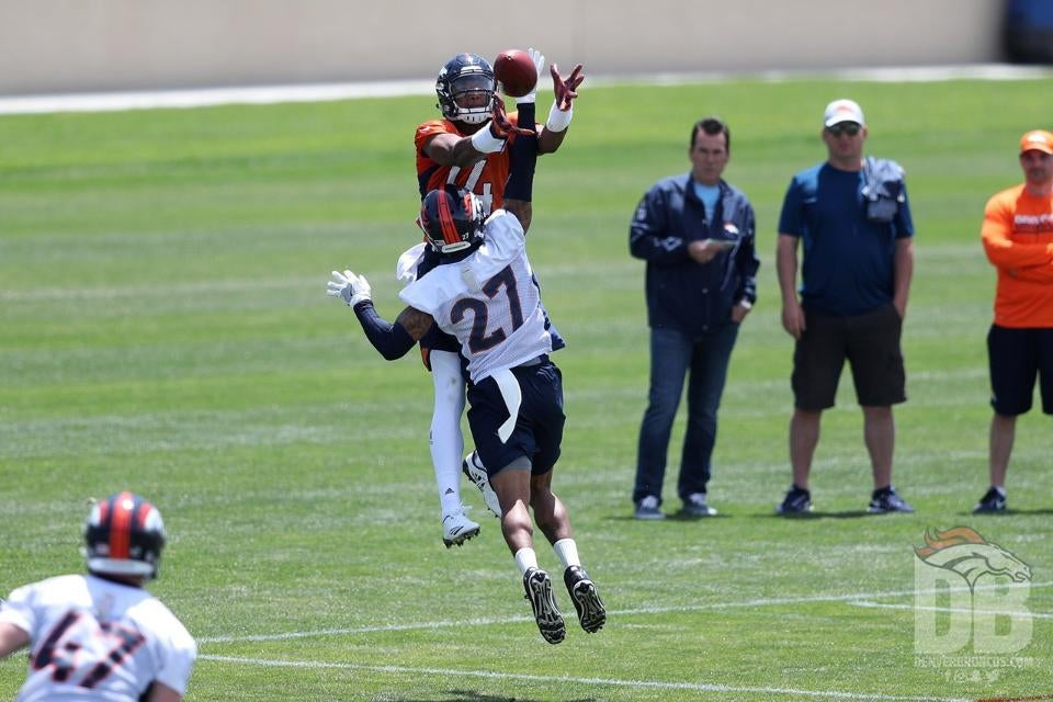 19a7ad099b0 10 players who improved their stock during Broncos OTAs