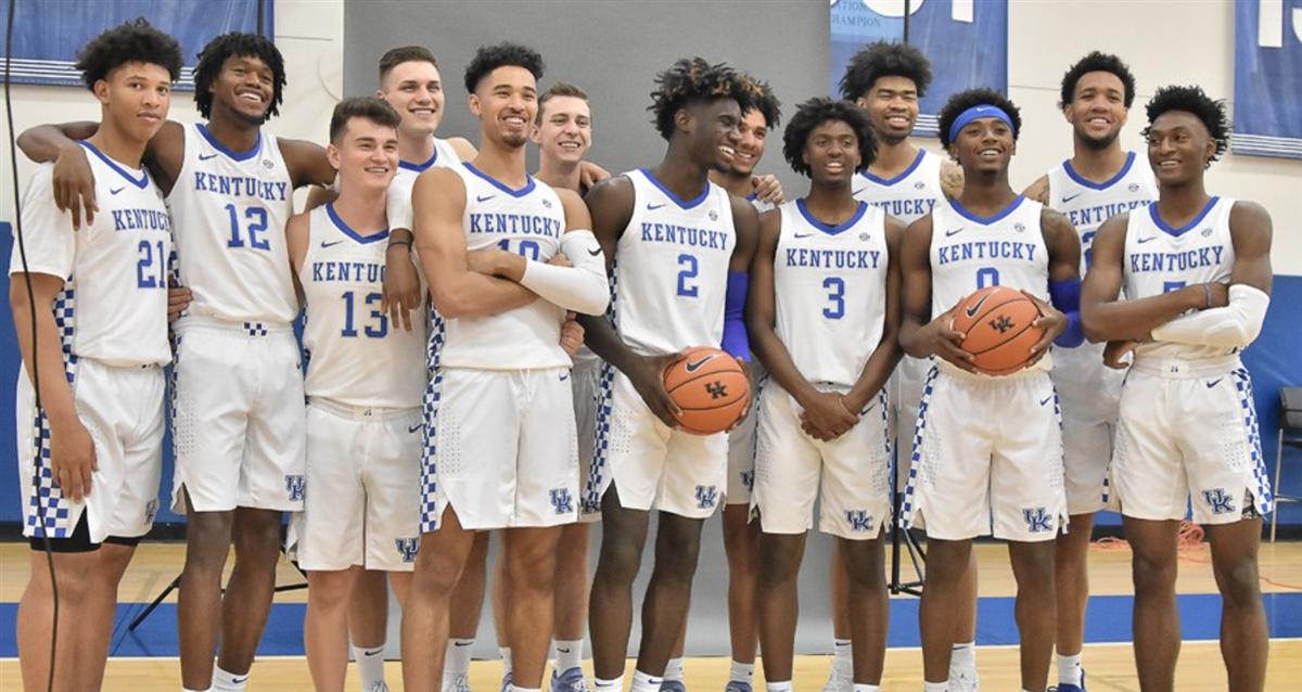 Gallery: Kentucky Basketball Photo Day