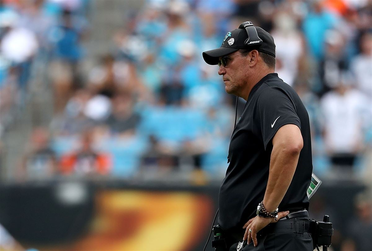 823afd210 Ron Rivera sends message to Panthers entering Bye Week