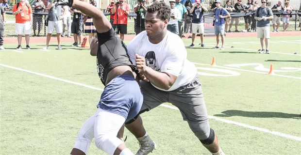 WATCH: Gators OL/DL Targets at Miami Opening Regional