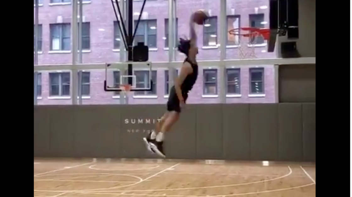Watch: Cole Anthony Shows Off High-Flying Dunks