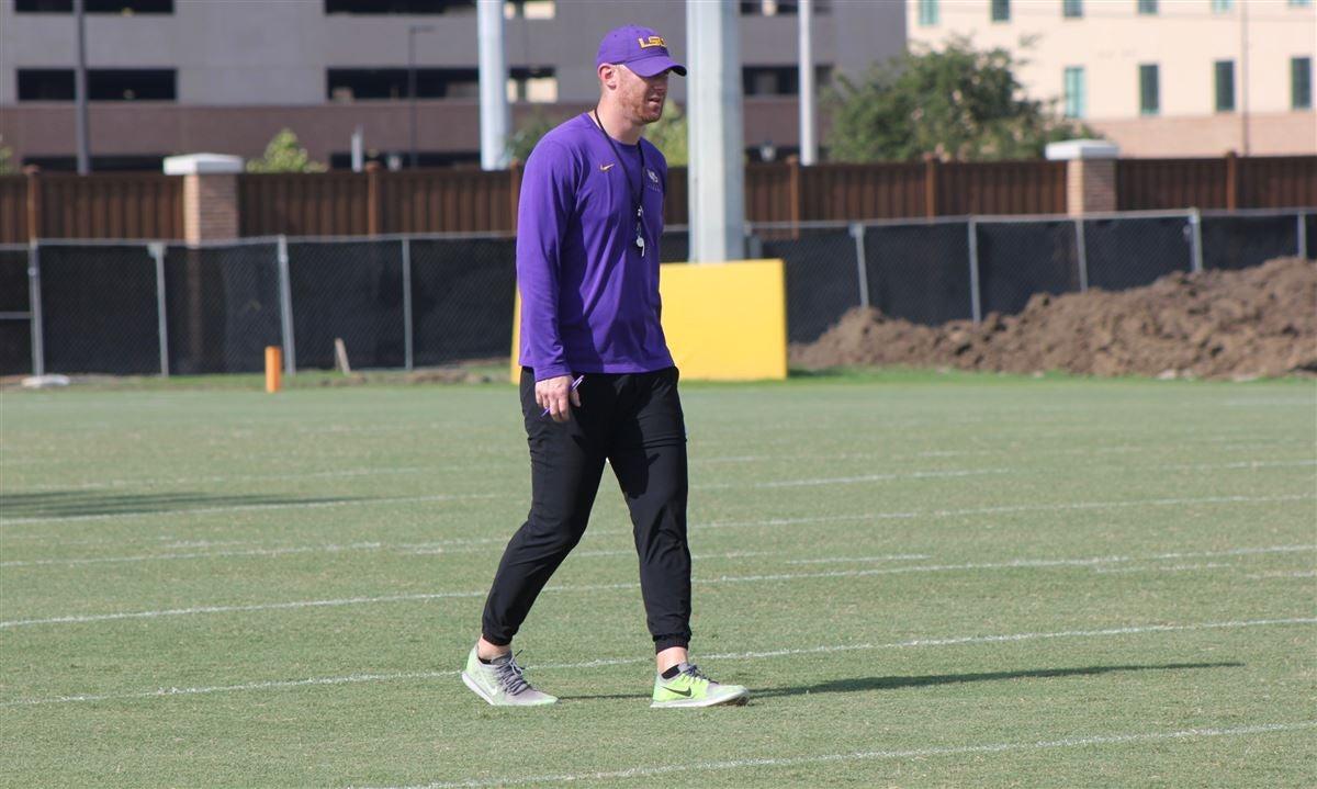 LSU's coaching staff set for booth, field duties