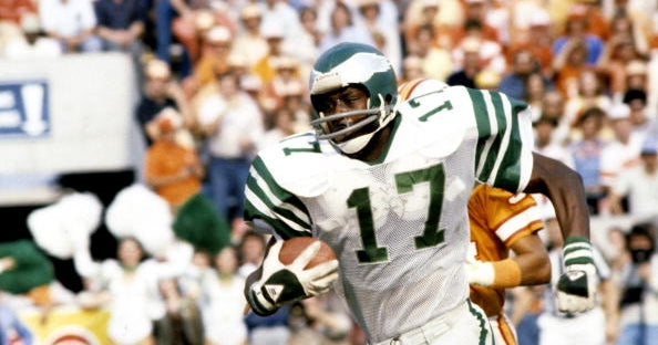 aa431338444 Harold Carmichael is greatest to wear No. 17 in Eagles history