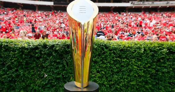 College Football Playoff championship odds released