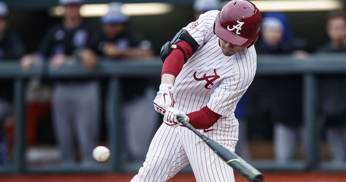 Alabama baseball team announces its 2020 schedule