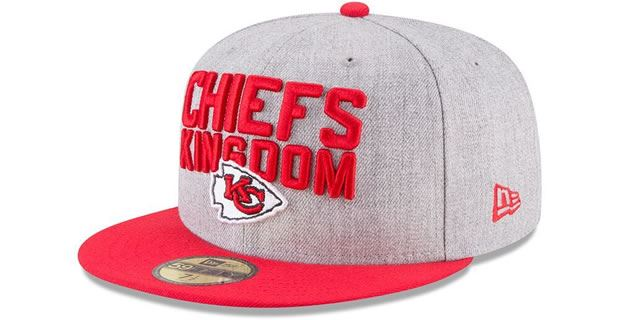 fa327925 Kansas City Chiefs 2018 draft hat revealed