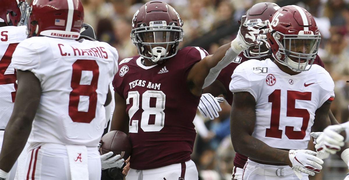No 13 Texas A M Opens As Big Underdog At No 2 Alabama