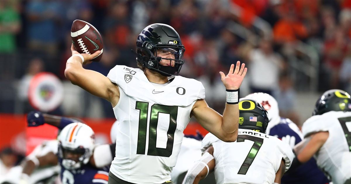 NFL scout says Justin Herbert 'doesn't know how good he can be'
