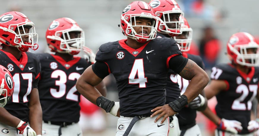 Georgia freshman Nolan Smith looks the part with chiseled frame
