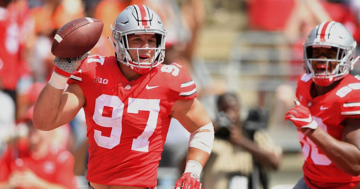 Nick Bosa named to Big Ten All-Decade second team