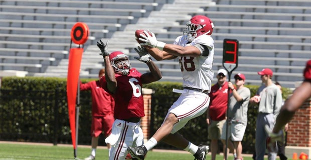 Alabama Starting Lineup >> Alabama S Starting Lineup After First Spring Scrimmage