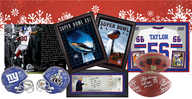 New York Giants Holiday Gift Guide