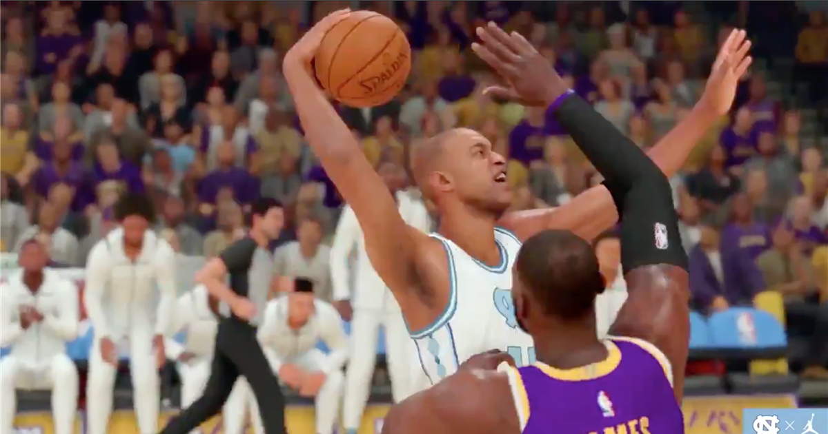 Watch: Unique Video Game Clips Feature Tar Heel & NBA Stars