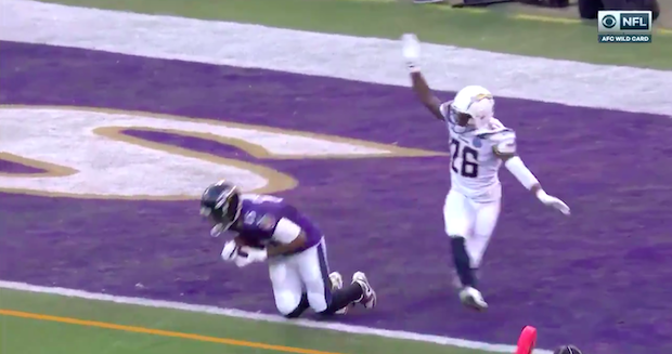 Michael Crabtree Scores Second Touchdown Vs Chargers