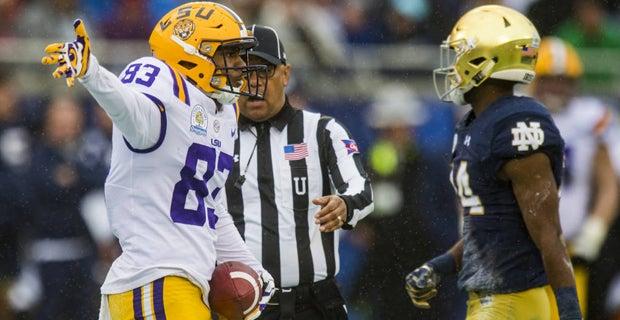PFF Grades: LSU offense vs. Notre Dame