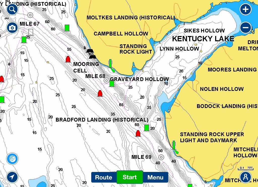 4 tips to find overlooked ledge fishing bass for Lake chickamauga fishing map