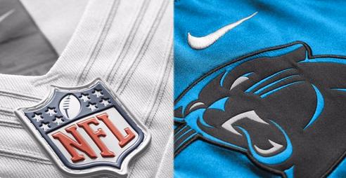 sale retailer 2045d 3807d Dallas Cowboys, Carolina Panthers 'Color Rush' jerseys unveiled