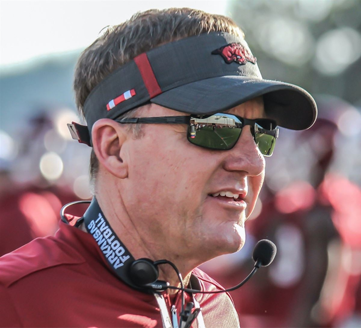 Key observations from first day of Razorback fall camp