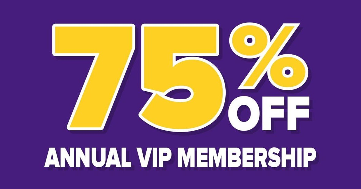 SUMMER SPECIAL: 75% OFF ANNUAL VIP PASS TO GEAUX247