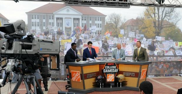 ncas scores where was college gameday today