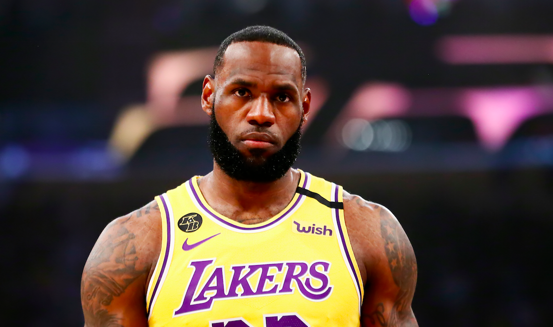 LeBron James sends message to angry fan who wrote Jeanie Buss