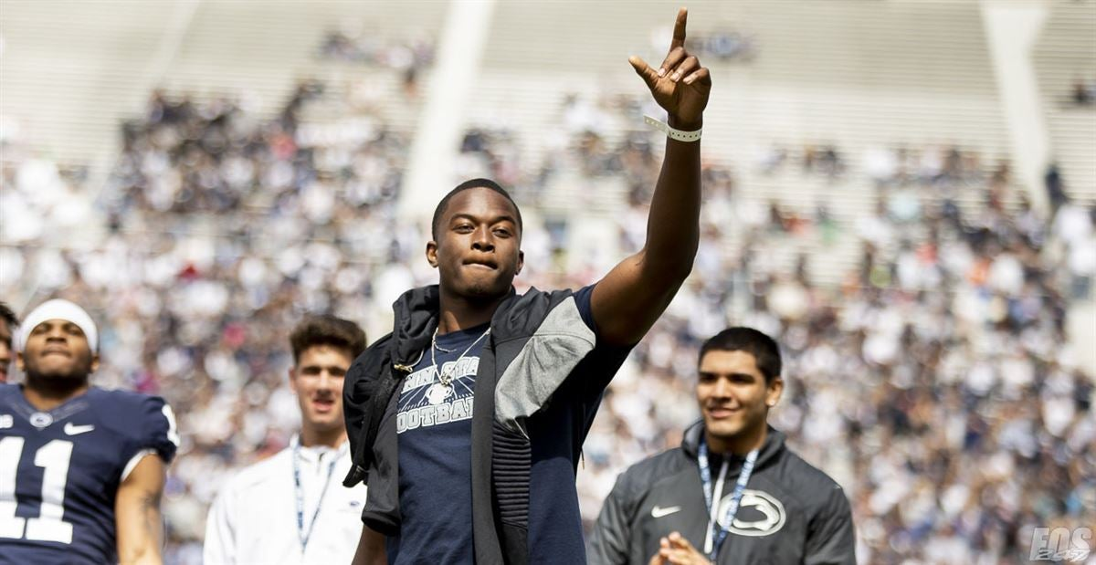 PSU's oversized rookie WR Shorter has role model to look up to