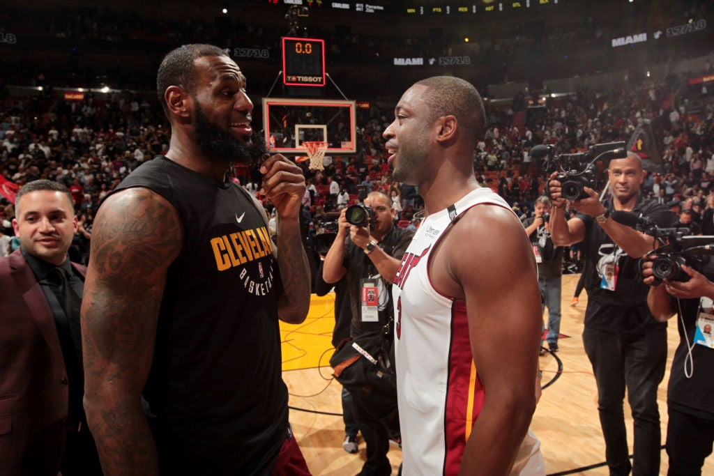 new product 1c117 04527 Dwyane Wade on Lakers' title chances: Don't count out LeBron