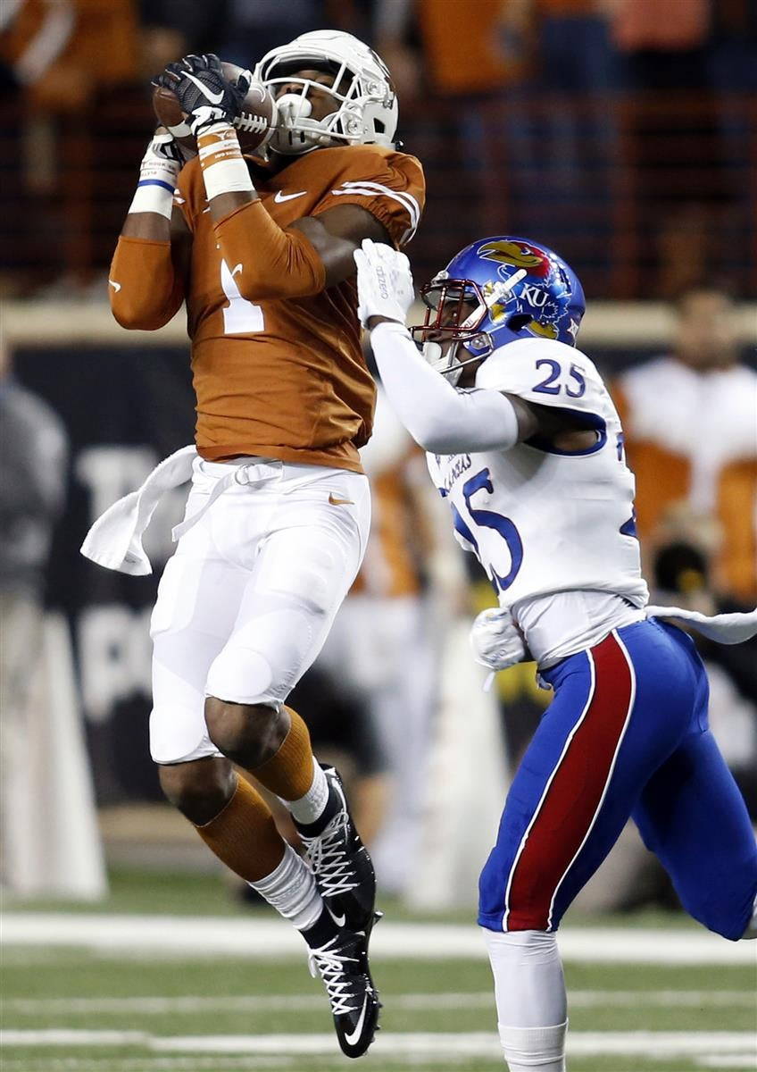 Five Plays Define A Convincing Texas Win Over Kansas
