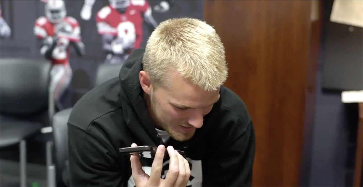Watch: Buckeye moms react to sons being named captains