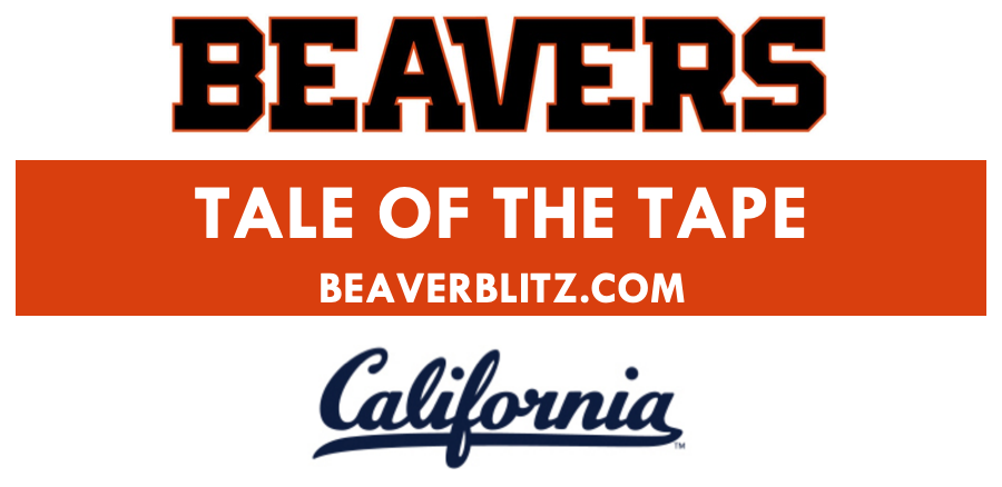 Tale of the Tape: Oregon State at California