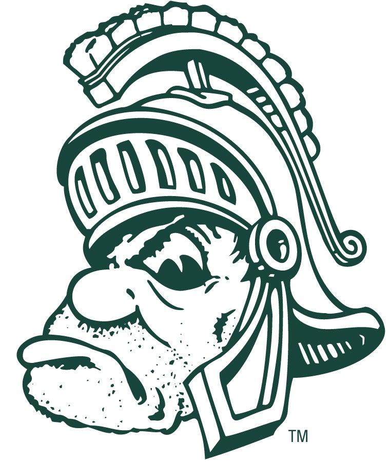 New MSU Spartan Decals
