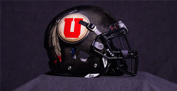 The Utes commissioned an artist to hand-paint each helmet for their   Blackout  game vs. USC and no two helmets are alike. The texture is meant  to resemble a ... 767102e21