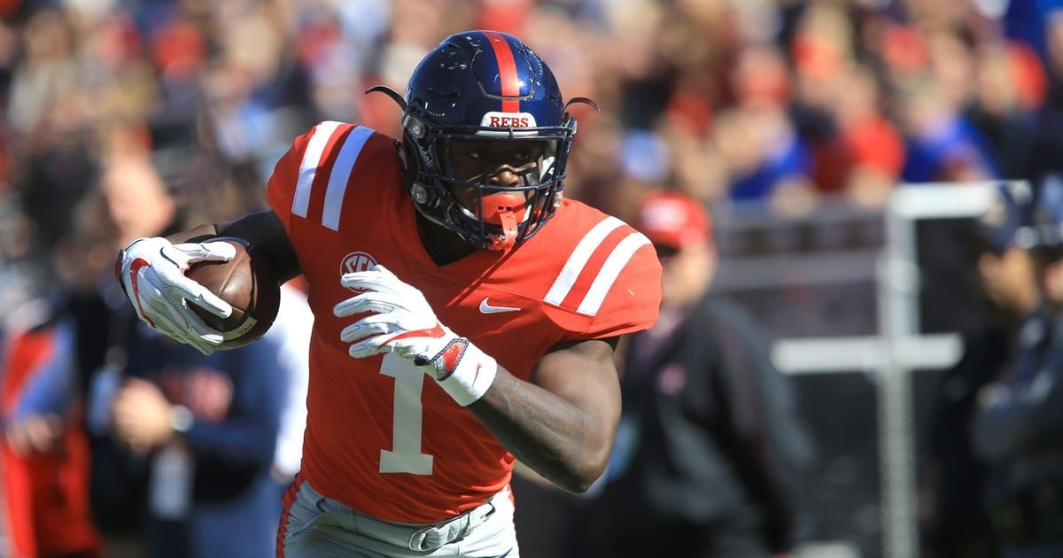 Ole Miss Wide Receiver A.J.Brown Named Finalist For Conerly Trophy
