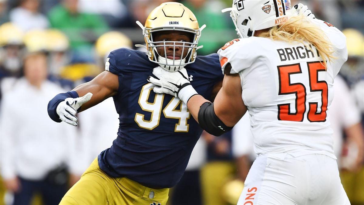 Evaluating Notre Dame's Roster: Defensive Ends